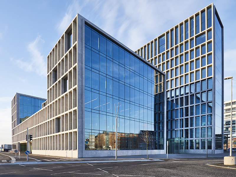 Siedle reference office and administration building Aarhus Bestseller