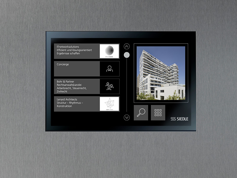 Siedle Touch User Interface