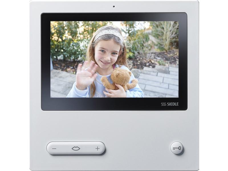 Siedle Video Panel mit Kamera: Sehen, wer vor der Haustür steht