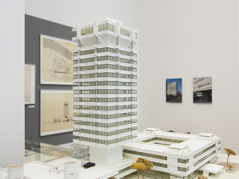 Architecture Museum Munich Paul Schneider-Esleben