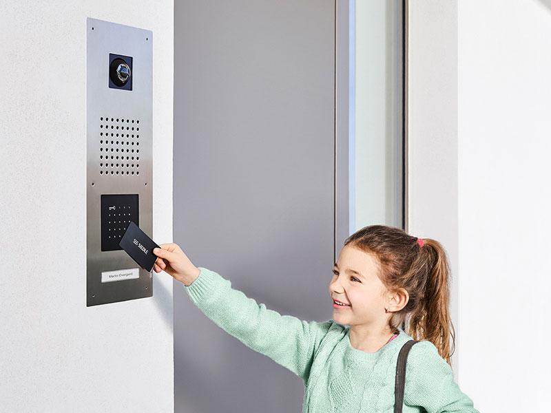 Siedle Classic Türsprechanlage mit Electronic Key Card