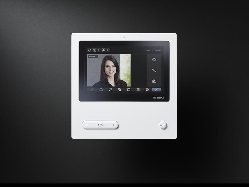 Siedle Video Panel white