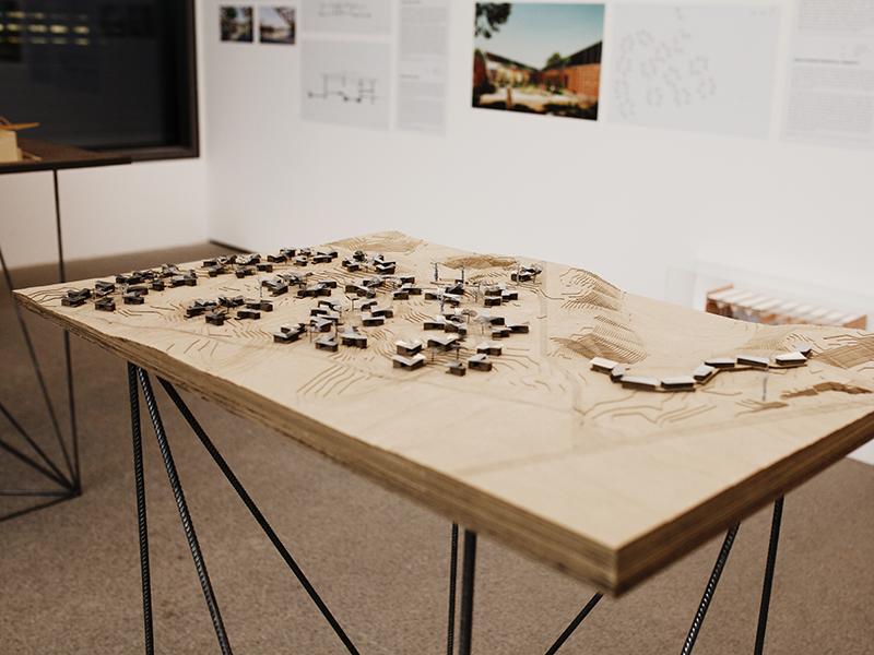 Francis Kéré im Architekturmuseum München