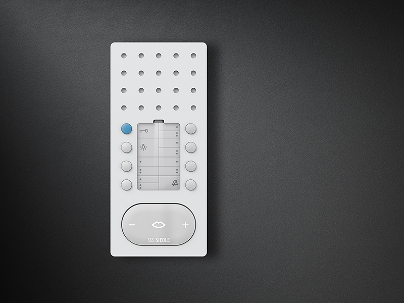 Siedle Comfort handsfree telephone intercom