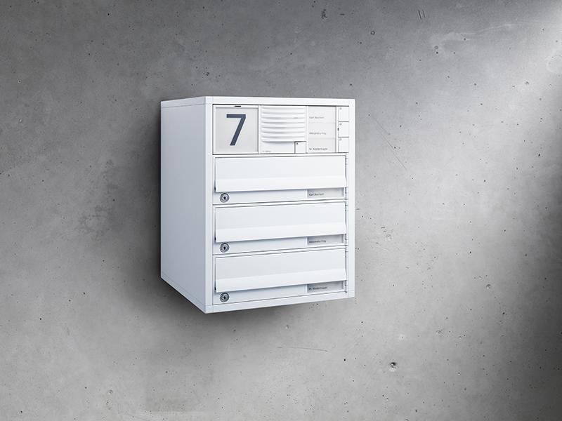 Siedle Briefkasten Aufputz