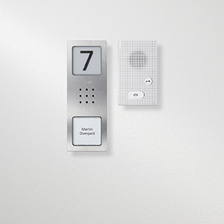 Siedle Basic audio sets with Compact door station