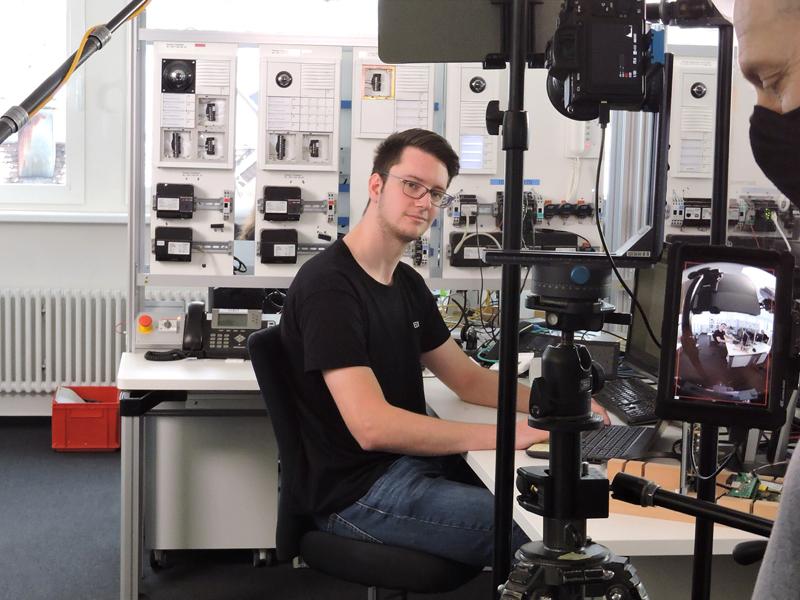 Siedle Ausbildung: Fachinformatiker im 3D-Filmdreh