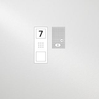 Siedle Set Compact Basic Audio für eine Wohneinheit