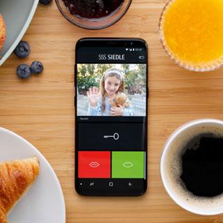 Siedle App: Türklingel auf dem Smartphone