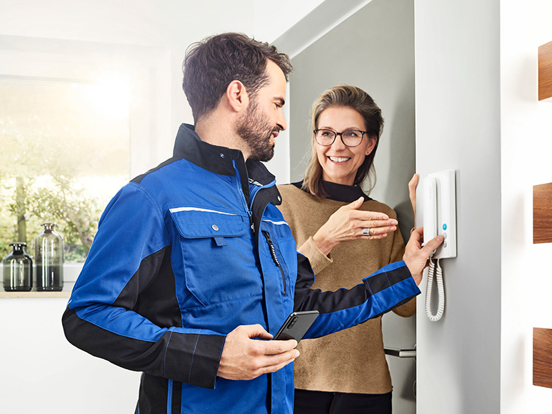 Siedle IQ-In-House Telephone Installation