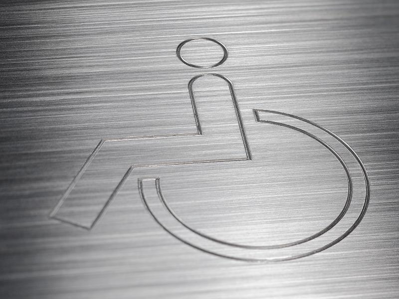 Siedle Barrierefreiheit Rollstuhltaste