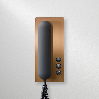 Siedle in-home telephone PVD copper