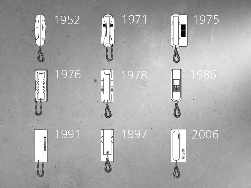 Siedle In-house telephone models up to 1952
