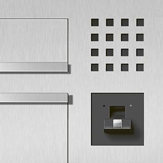 Siedle Briefkasten elektrische Entriegelung
