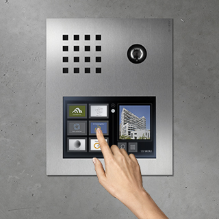 Siedle Touch intuitive operation