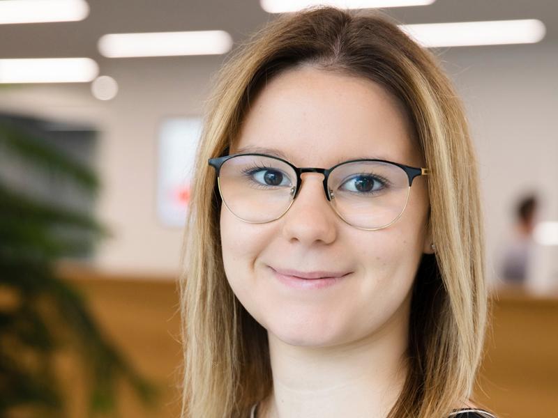 Personalverantwortliche für die Ausbildung Monique Roigk
