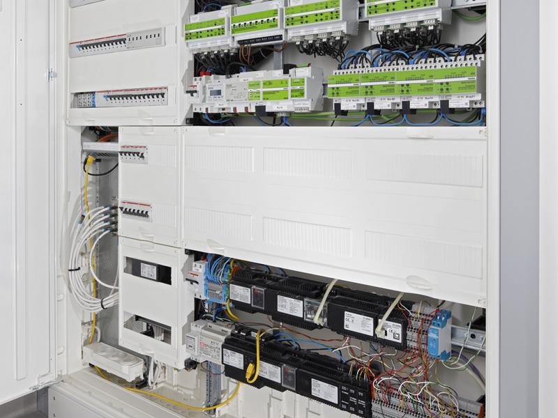 Technische Zentrale Smart Home in Oberbayern