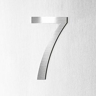 Siedle Steel Funktionsmodul Hausnummer erhaben