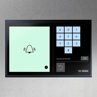 Siedle Touch code lock