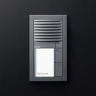 Siedle Vario colour micaceous dark grey (DB 703)