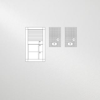Siedle Set Vario Audio für zwei Wohneinheiten