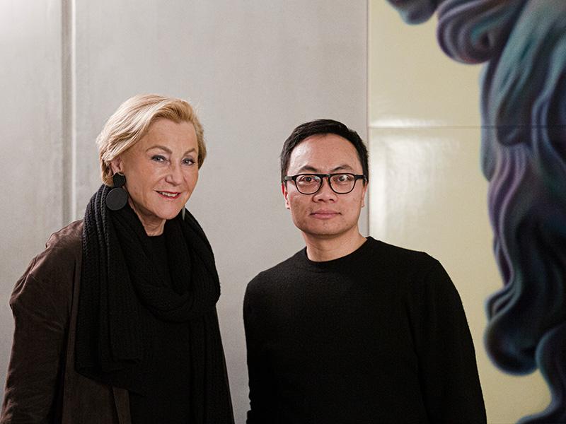 Gabriele Siedle im Gespräch mit Anh-Linh Ngo