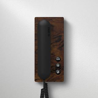 Siedle in-house telephone wood