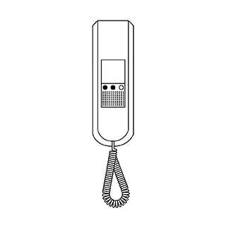 Siedle in-house telephone 1986