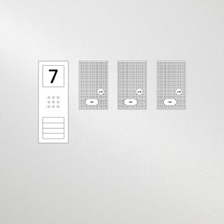 Siedle Set Compact Basic Audio für drei Wohneinheiten