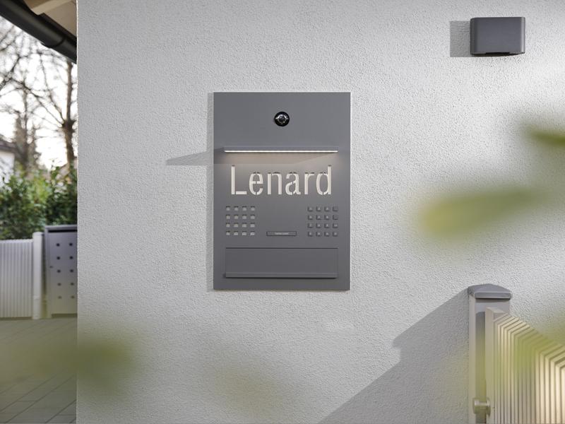 Siedle Referenz Smart Home in Oberbayern Stilvoller Empfang