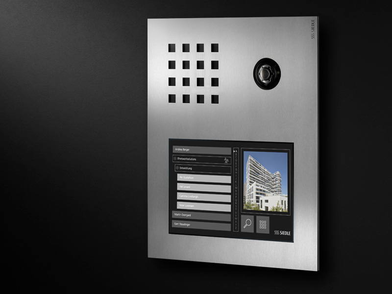 Siedle Steel Touch