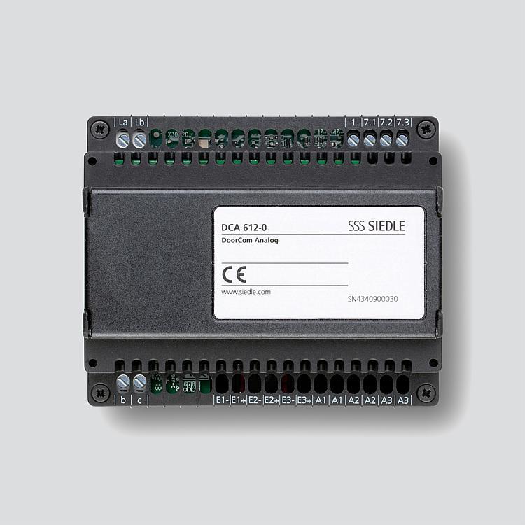 DoorCom-Analog DCA 612-0