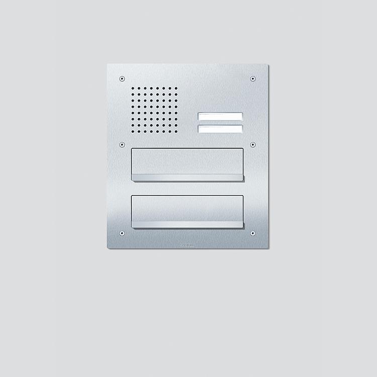 CL 411 BD2A 02 N Siedle Classic Durchwurfbriefkasten-Front Audio