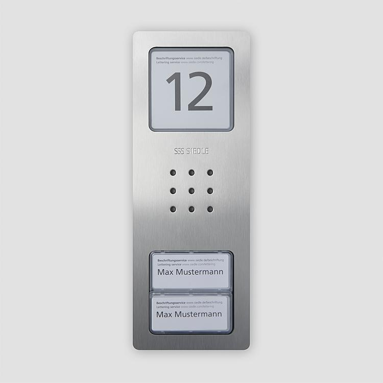 CA 850-2 E Audio-Türstation Siedle Compact