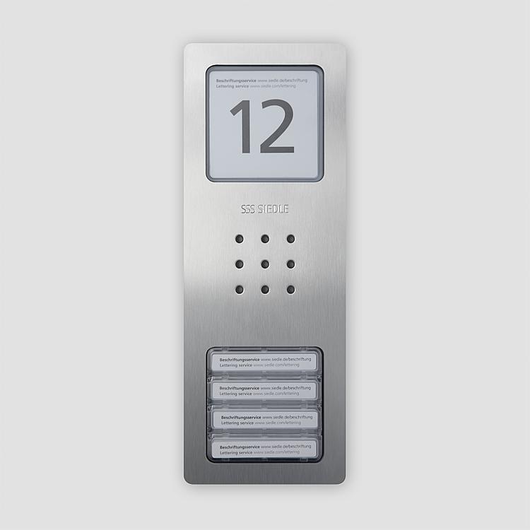 CA 850-4 E Audio-Türstation Siedle Compact