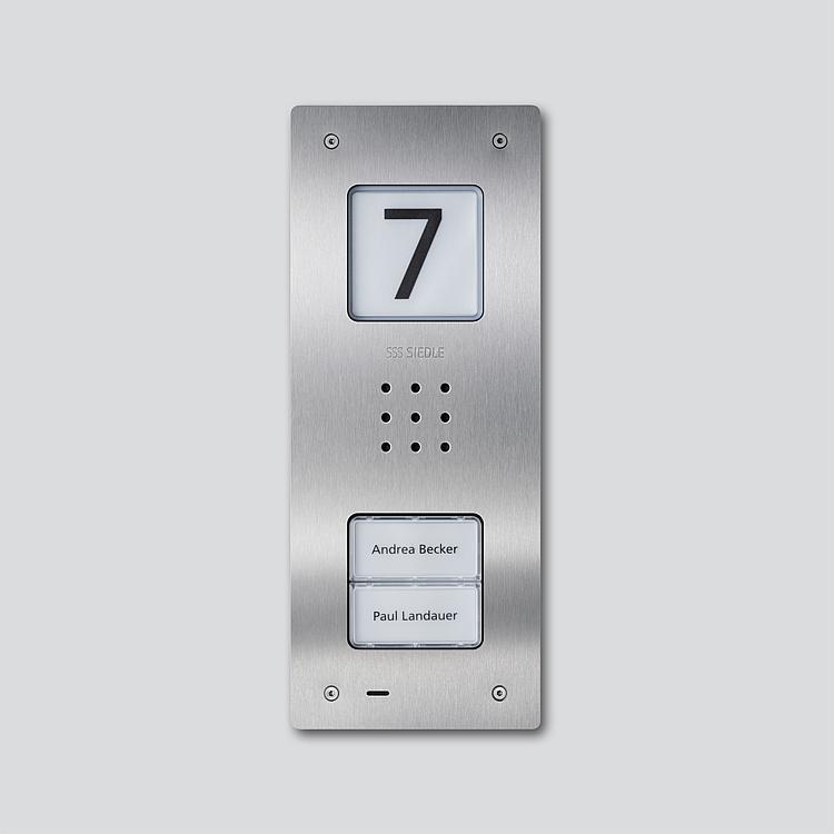 CAU 850-2-0 E Audio-Türstation Siedle Compact Unterputz