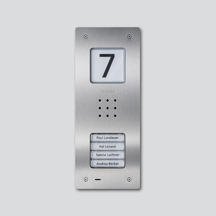 CAU 850-4-0 E Audio-Türstation Siedle Compact Unterputz