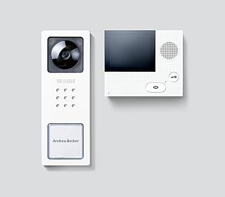 siedle video systeme. Black Bedroom Furniture Sets. Home Design Ideas