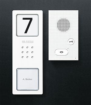 siedle audio set. Black Bedroom Furniture Sets. Home Design Ideas