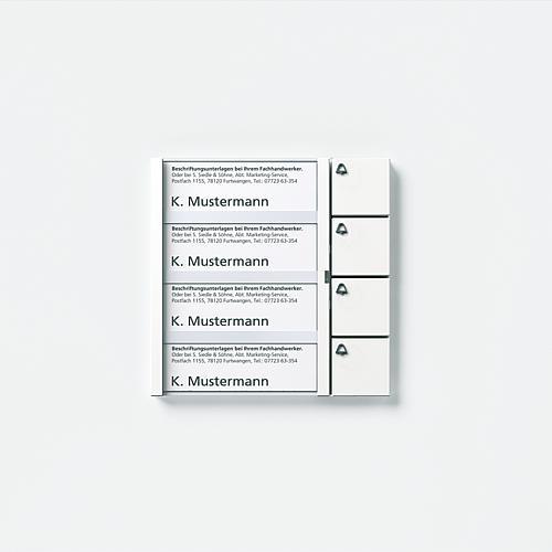Siedle Tastenmodul TM 612-3  W