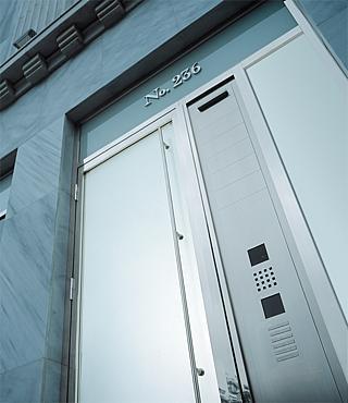 siedle door panel mounting. Black Bedroom Furniture Sets. Home Design Ideas