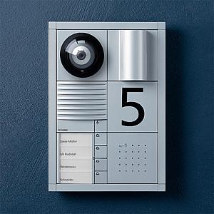 siedle electronic key. Black Bedroom Furniture Sets. Home Design Ideas