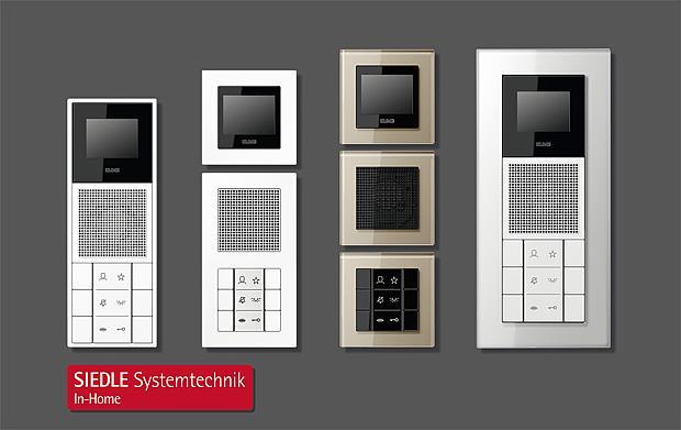 siedle jung indoor stations. Black Bedroom Furniture Sets. Home Design Ideas